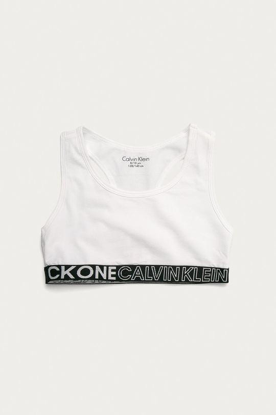 Calvin Klein Underwear - Biustonosz sportowy dziecięcy (2-pack) 95 % Bawełna organiczna, 5 % Elastan