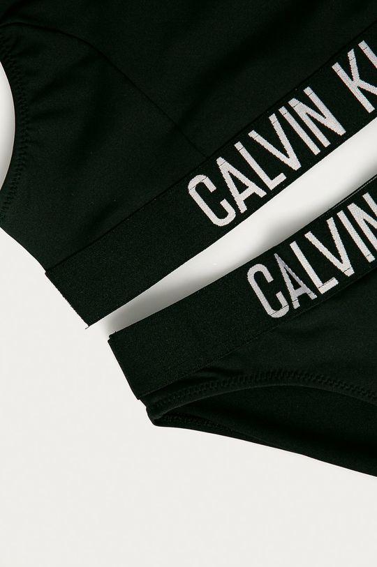 Calvin Klein - Detské plavky 128-176 cm čierna