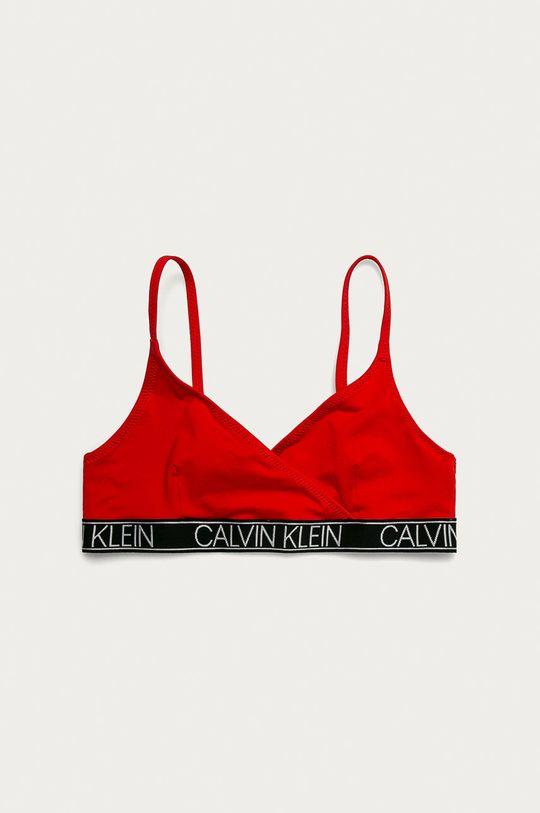 Calvin Klein - Strój kąpielowy dziecięcy 128-176 cm czerwony
