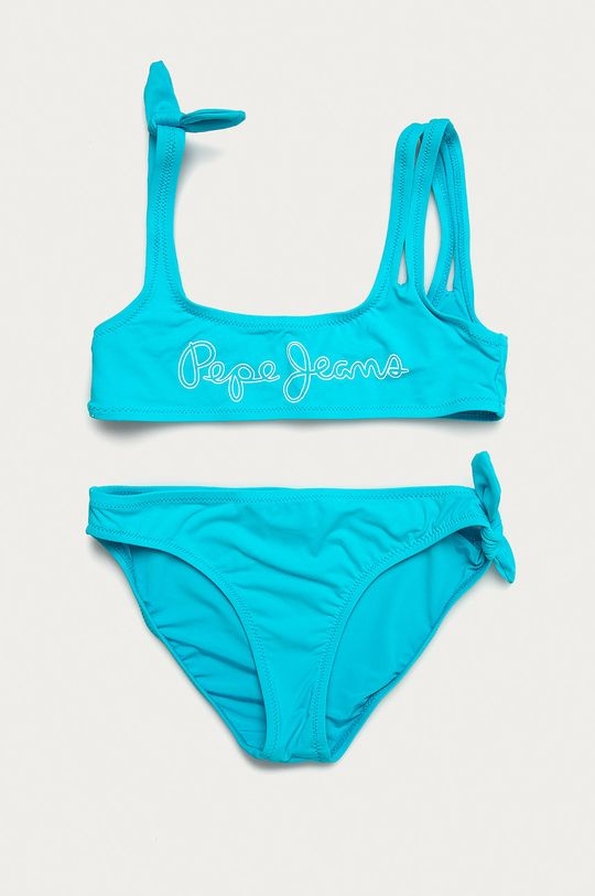 niebieski Pepe Jeans - Strój kąpielowy dziecięcy Daniela 128-180 cm Dziewczęcy