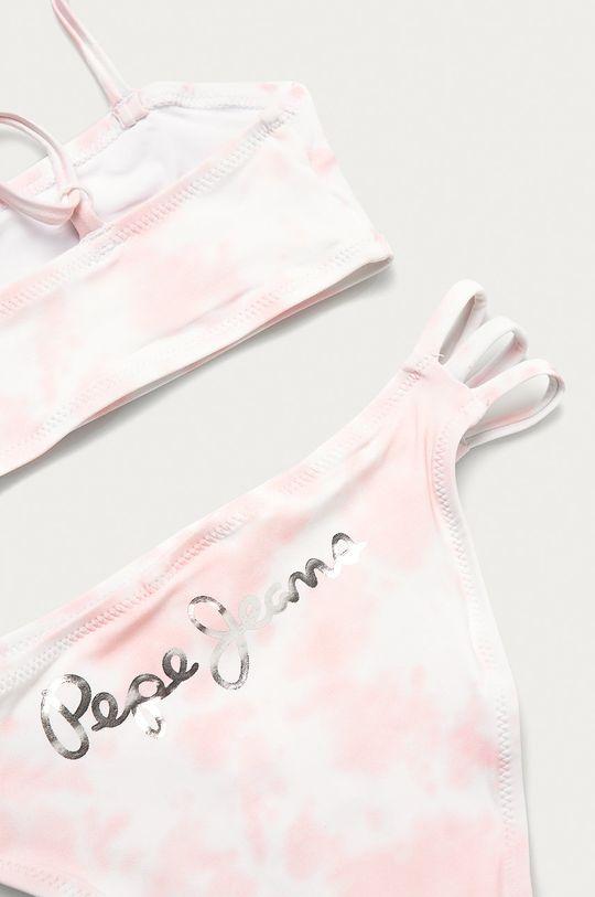 Pepe Jeans - Strój kąpielowy Laila różowy