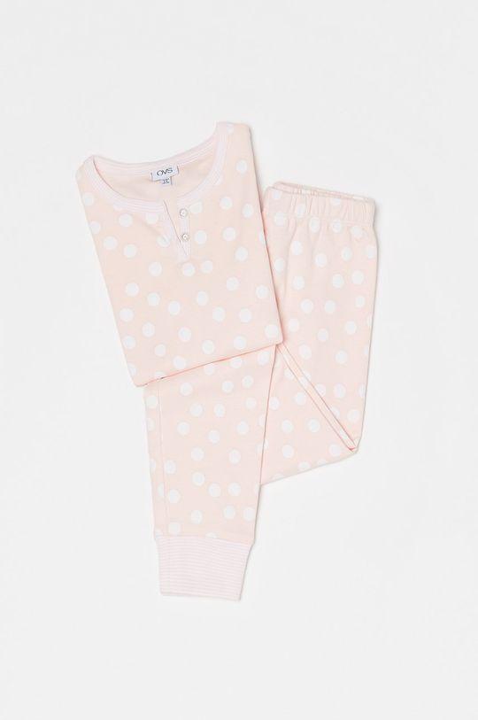 pastelowy różowy OVS - Piżama dziecięca Dziewczęcy