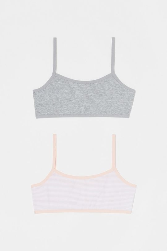 pastelowy różowy OVS - Biustonosz dziecięcy 146-170 cm (2-pack) Dziewczęcy