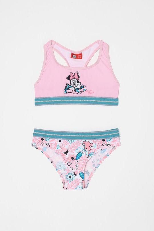 różowy OVS - Strój kąpielowy dziecięcy Dziewczęcy