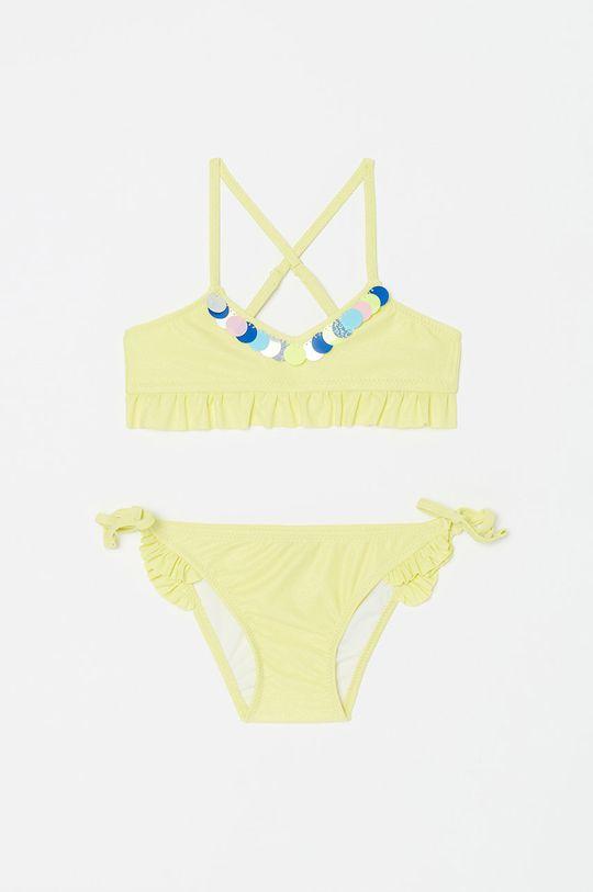 žlutá OVS - Dětské plavky Dívčí