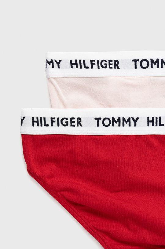 Tommy Hilfiger - Detské nohavičky (2-pak) červená