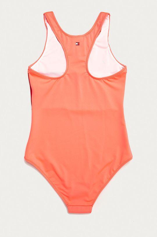 Tommy Hilfiger - Strój kąpielowy dziecięcy 128-164 cm ostry różowy