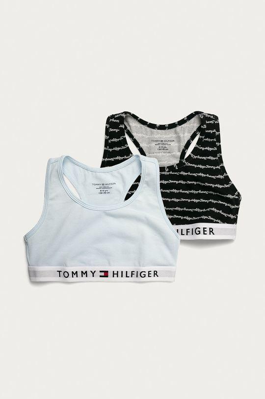 blady niebieski Tommy Hilfiger - Biustonosz dziecięcy (2-pack) Dziewczęcy