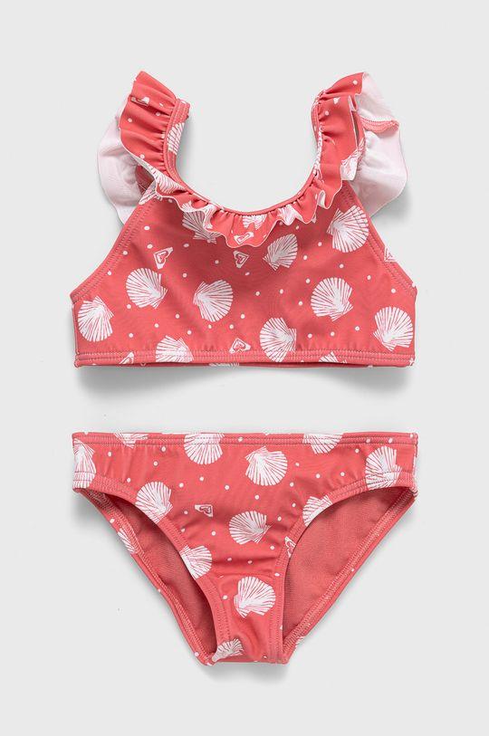 ostry różowy Roxy - Strój kąpielowy dziecięcy 91-122 cm Dziewczęcy