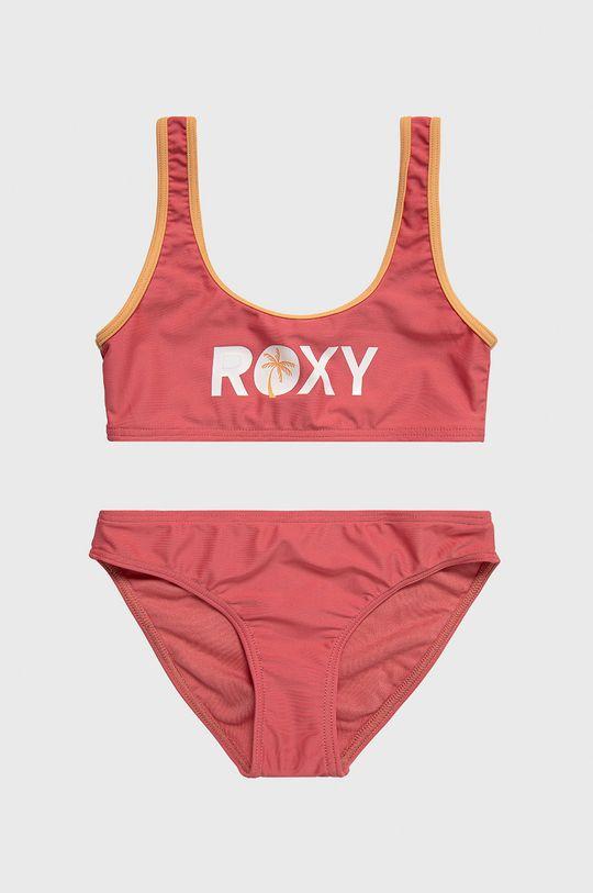 ostry różowy Roxy - Strój kąpielowy dziecięcy 128-176 cm Dziewczęcy