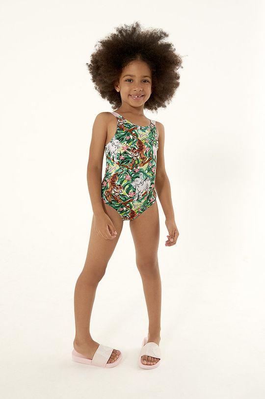 zelená KENZO KIDS - Detské plavky Dievčenský