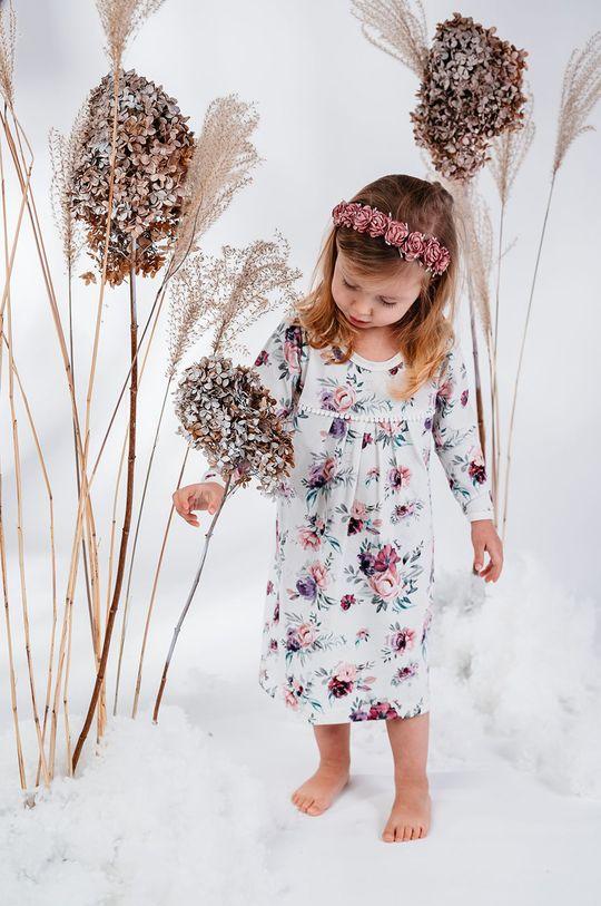 fioletowy Jamiks - Koszula nocna dziecięca Lindoa 98-116 cm Dziewczęcy