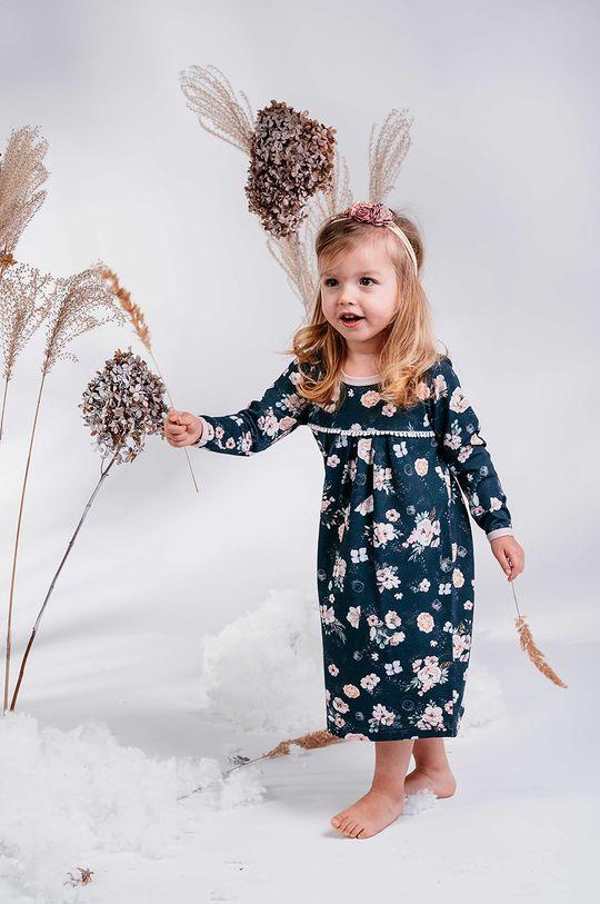 granatowy Jamiks - Koszula nocna dziecięca Lindoa 98-116 cm Dziewczęcy
