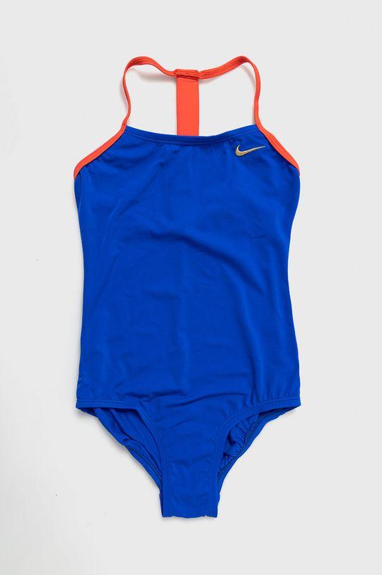 modrá Nike Kids - Detské plavky 120-170 cm Dievčenský