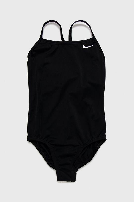 czarny Nike Kids - Strój kąpielowy dziecięcy 120-170 cm Dziewczęcy