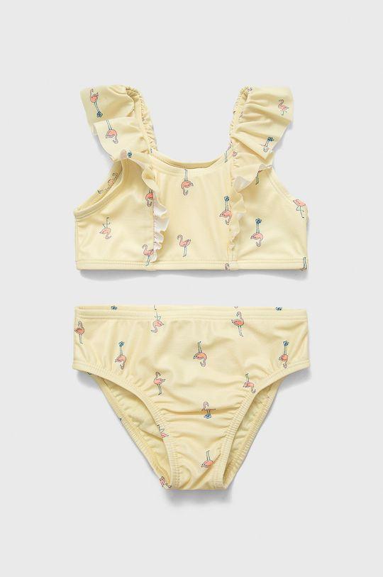 jasně žlutá GAP - Dětské plavky 74-110 cm Dívčí
