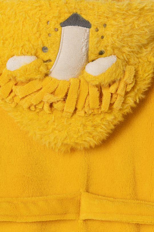 GAP - Szlafrok dziecięcy 92-110 cm żółty