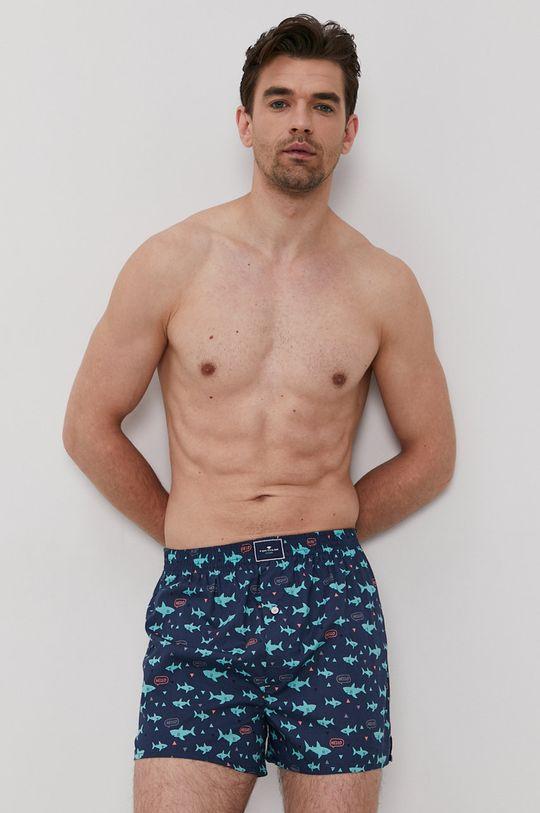 Tom Tailor - Boxerky (2-pak) zelená