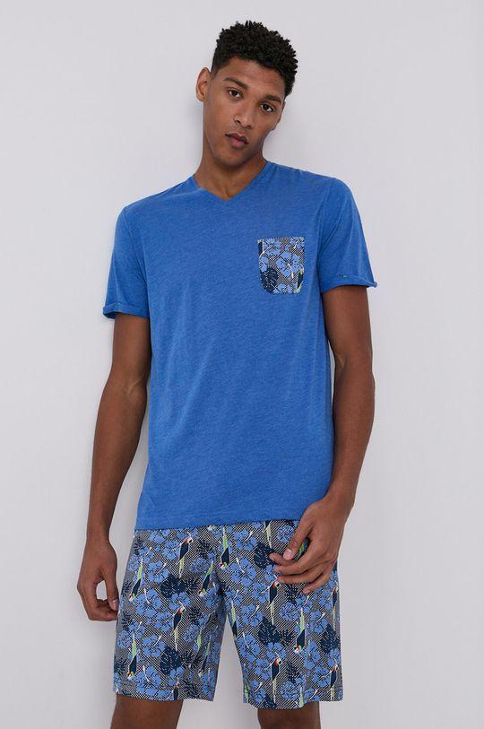 niebieski Tom Tailor - Piżama Męski