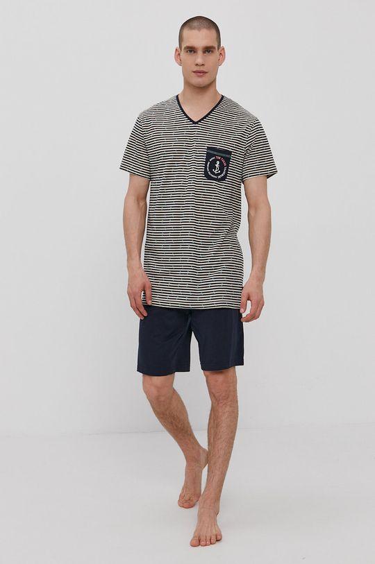tmavomodrá Tom Tailor - Pyžamo Pánsky