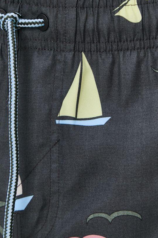 šedá Protest - Plavkové šortky