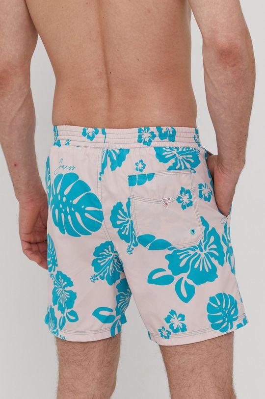 Guess - Plavkové šortky  Podšívka: 100% Polyester Hlavní materiál: 100% Polyester