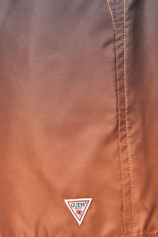 oranžová Guess - Plavkové šortky