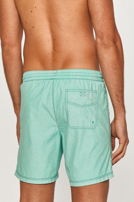 Guess - Plavkové šortky  55% Bavlna, 45% Nylon