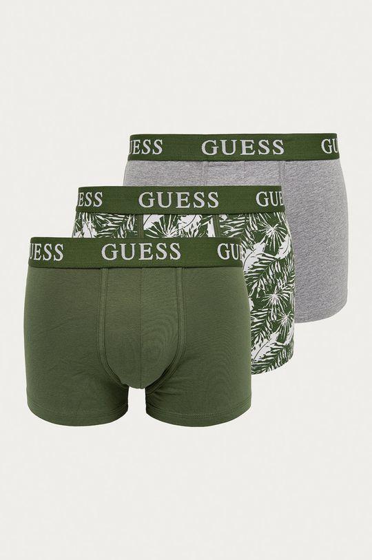 zielony Guess - Bokserki (3-pack) Męski
