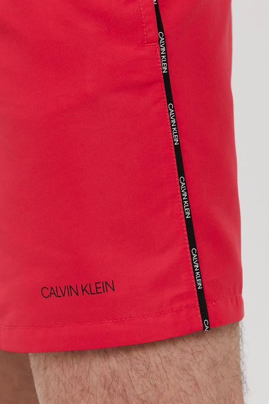 ostry różowy Calvin Klein - Szorty kąpielowe