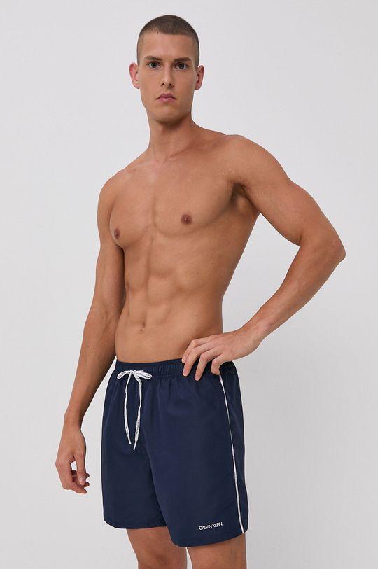 námořnická modř Calvin Klein - Plavkové šortky Pánský