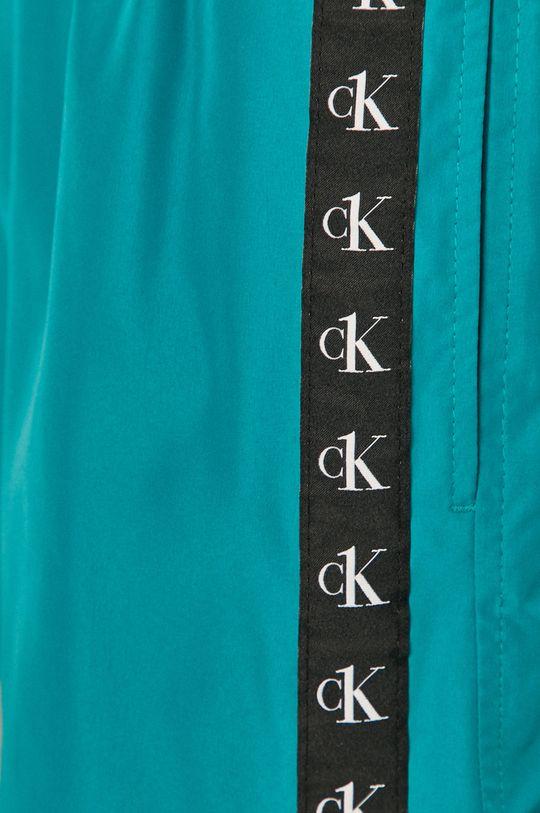 tyrkysová modrá Calvin Klein - Plavkové šortky