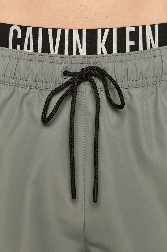 světle šedá Calvin Klein - Plavkové šortky