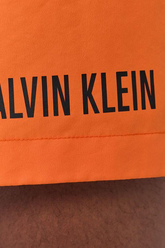 oranžová Calvin Klein - Plavkové šortky