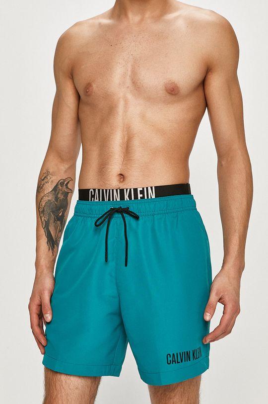 tyrkysová Calvin Klein - Plavkové šortky Pánský