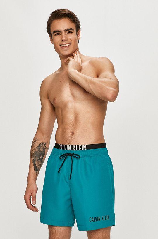Calvin Klein - Plavkové šortky tyrkysová