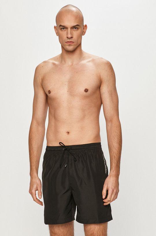 Calvin Klein - Plavkové šortky čierna