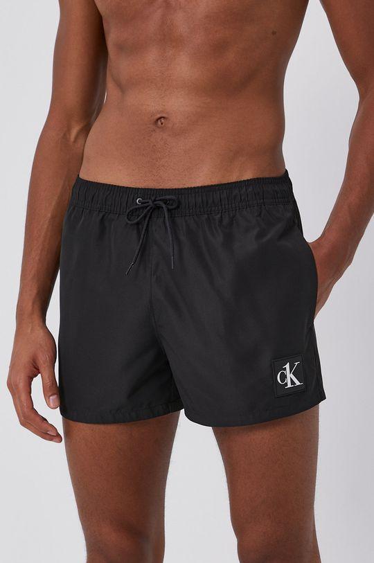 Calvin Klein - Szorty kąpielowe czarny