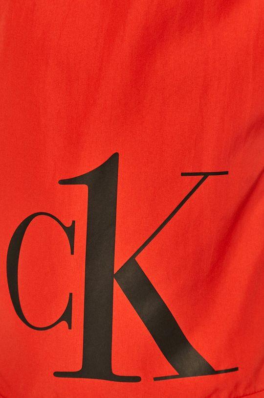 czerwony Calvin Klein - Szorty kąpielowe