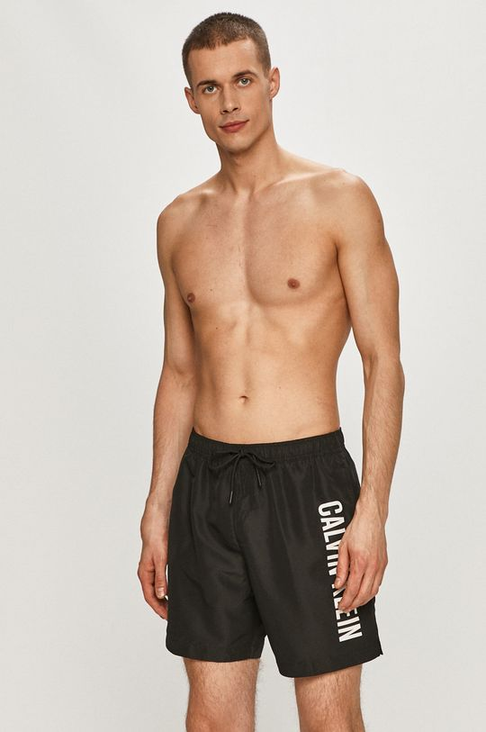 Calvin Klein - Pantaloni scurti de baie negru
