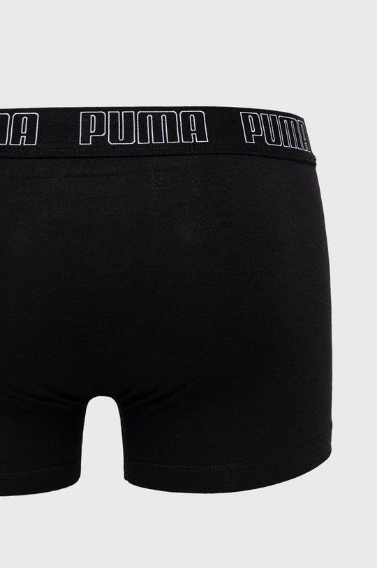 Puma - Boxerky (2-pack) čierna