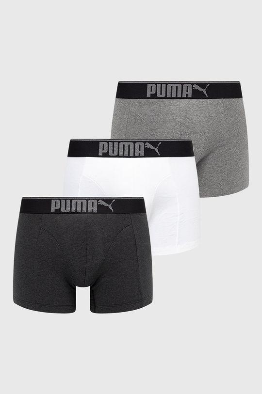 vícebarevná Puma - Boxerky (3-pack) Pánský
