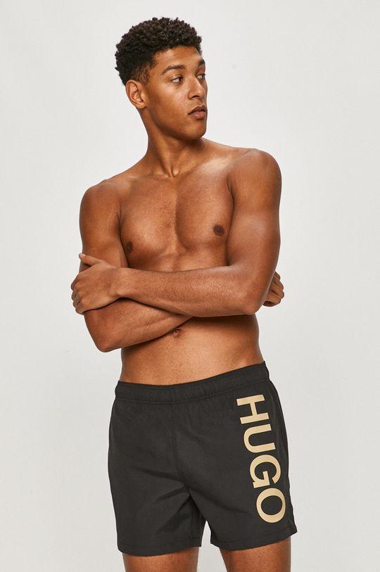 negru Hugo - Pantaloni scurti de baie De bărbați