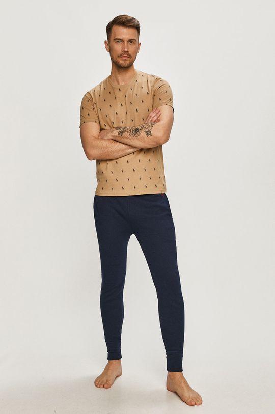 Polo Ralph Lauren - T-shirt złoty brąz