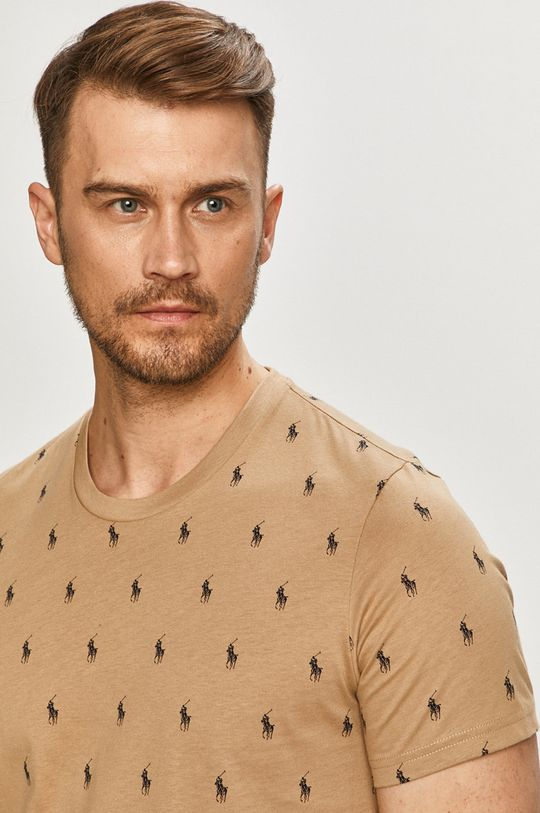 złoty brąz Polo Ralph Lauren - T-shirt