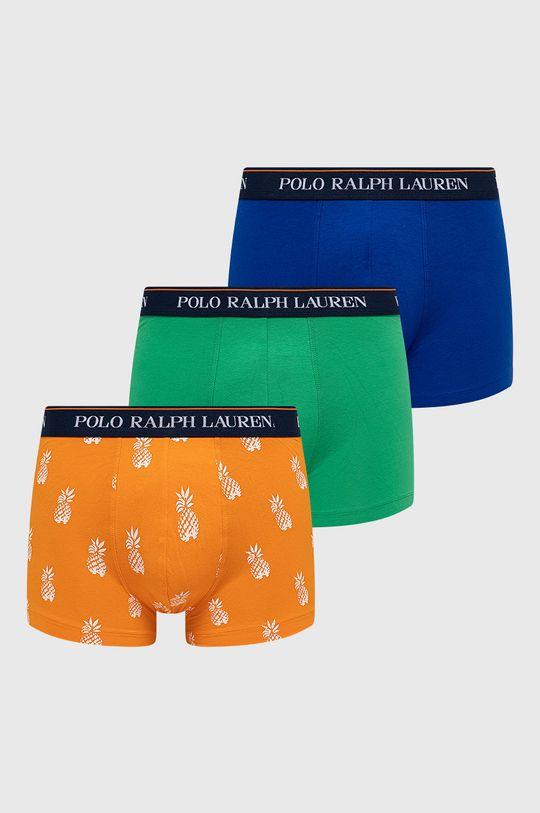 zelená Polo Ralph Lauren - Boxerky (3-pak) Pánsky