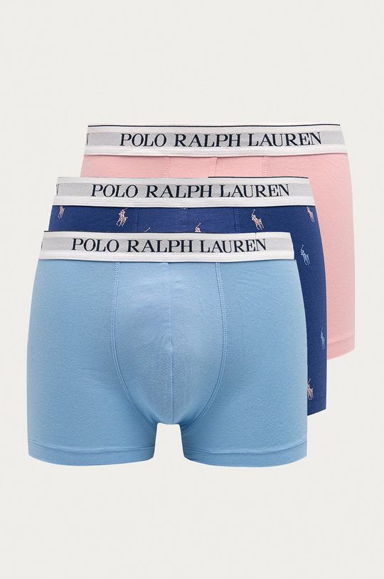 růžová Polo Ralph Lauren - Boxerky (3-pack) Pánský