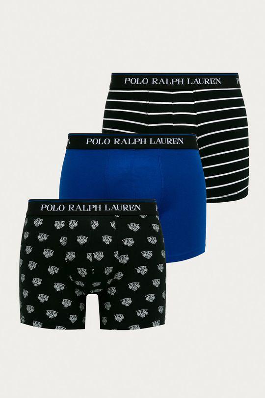 černá Polo Ralph Lauren - Boxerky (3-pack) Pánský