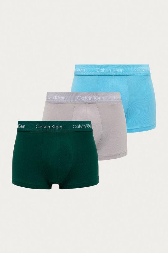 jasny niebieski Calvin Klein Underwear - Bokserki (3-pack) Męski
