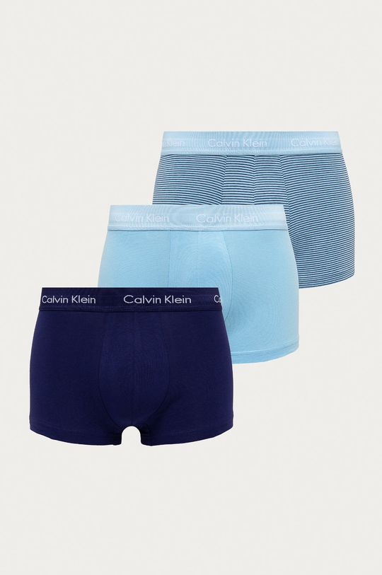 modrá Calvin Klein Underwear - Boxerky (3-pack) Pánský